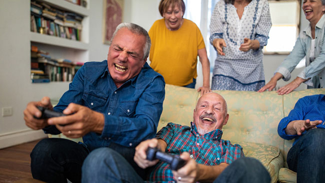 Senior players are the fastest growing segment of gamers