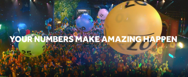 National Lottery links play and purpose to build the brand