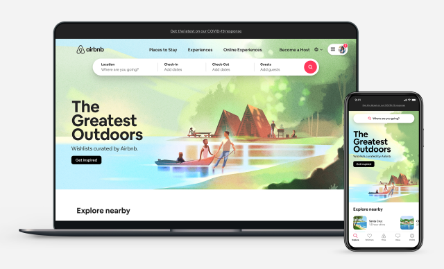 Airbnb sees benefits from frontloading marketing spend