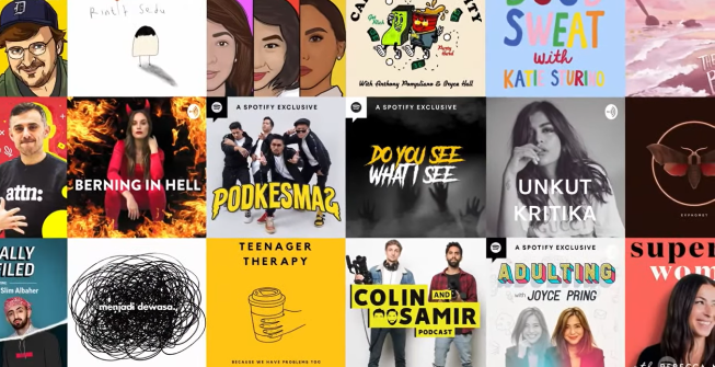 Spotify amplifies its podcast offer