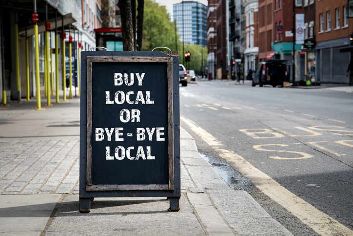 A spoonful of local content helps the message go in