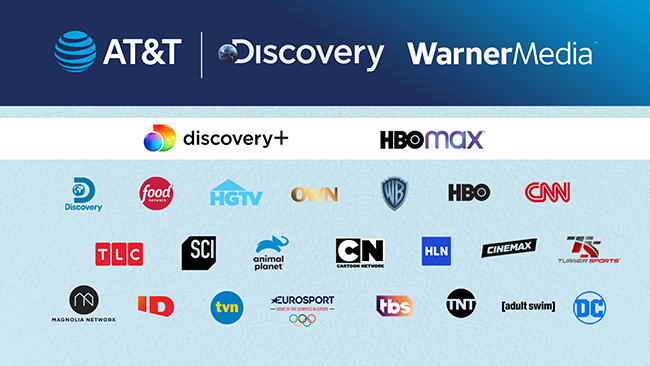 AT&T withdraws from media with Discovery deal