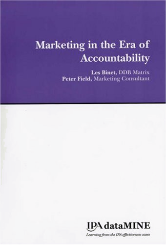 Marketing in the Era of Accountability