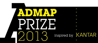 The Admap Prize 2013