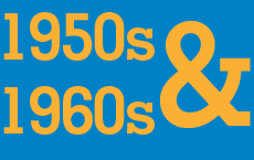 1950s and 1960s