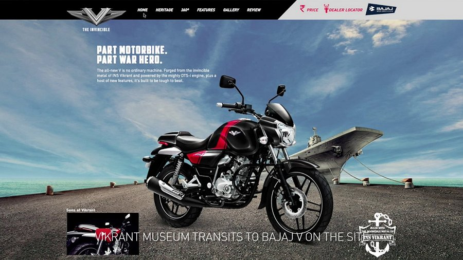 Bajaj V: The Nation's Bike