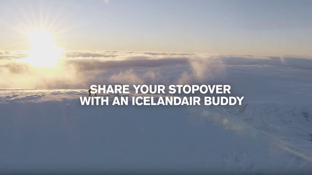 Icelandair: Stopover Buddy