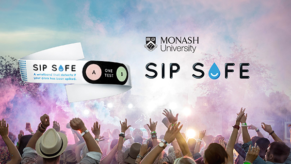 Monash University: Sip Safe