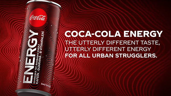 Coca-Cola: Coke Energy - This energy is for you