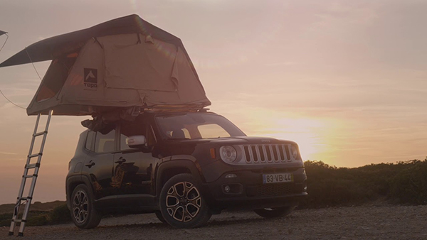 Hertz Campers: How to avoid a crisis in a Jeep rooftop tent