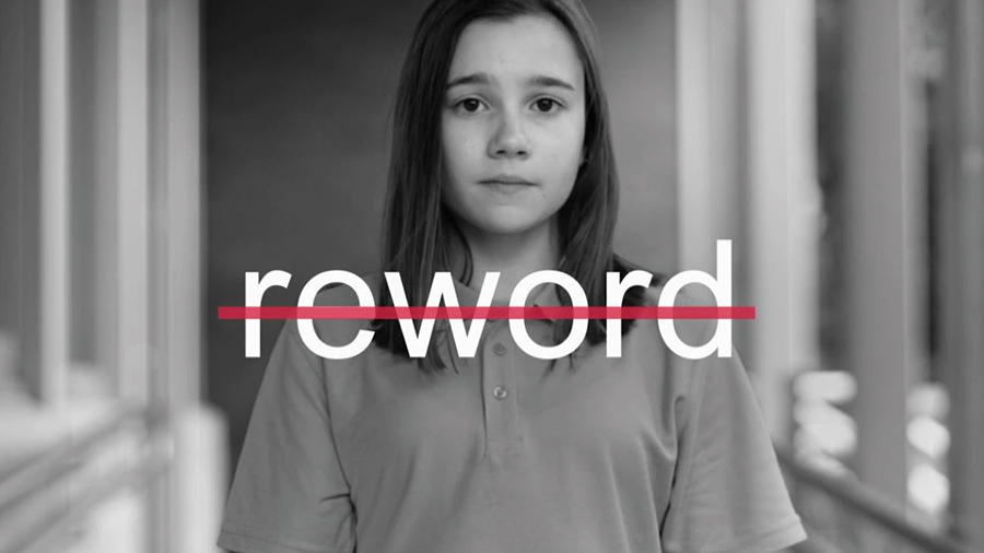 Reword: Changing online bullying behaviour