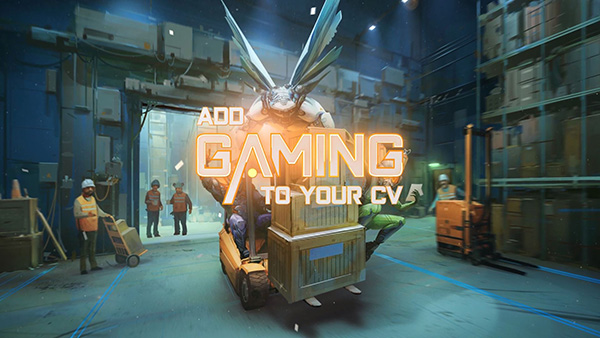 Add gaming experience to your CV