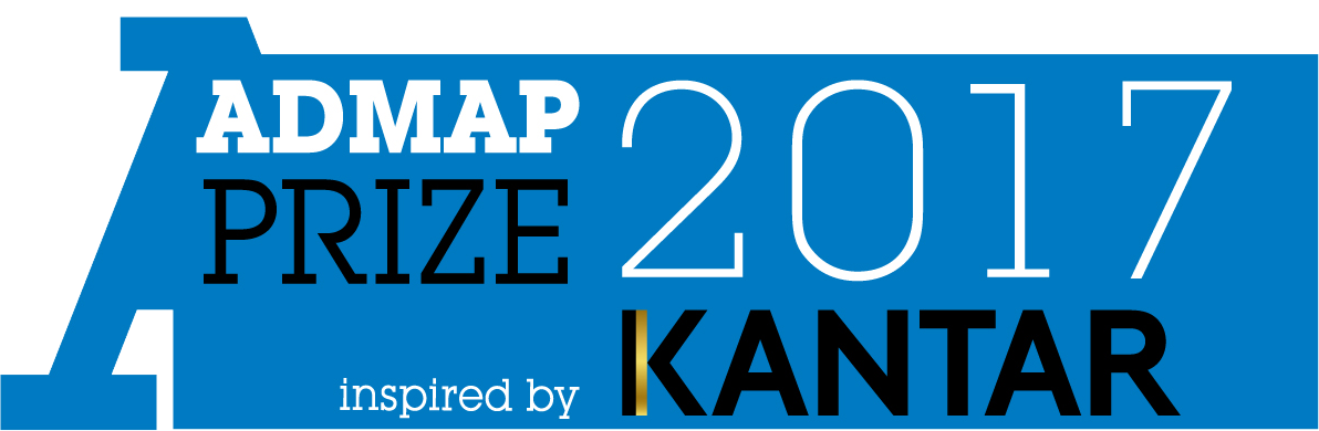 Admap Prize 2017, inspired by Kantar