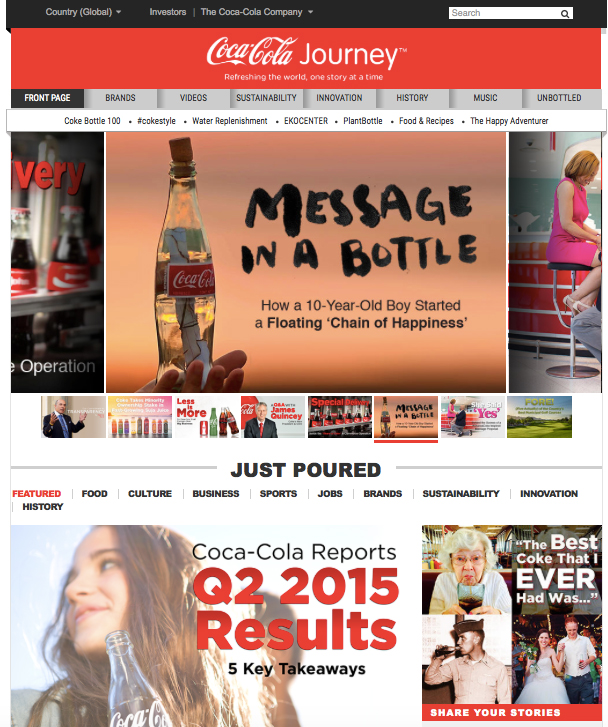 Coca-Cola's Journey to online publishing platform | WARC