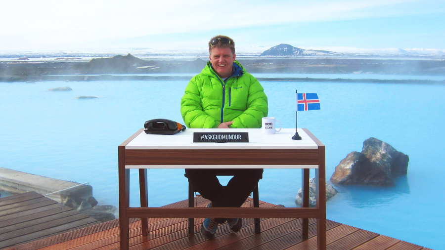 Inspired by Iceland - Ask Gudmundur: The World's First Human Search Engine