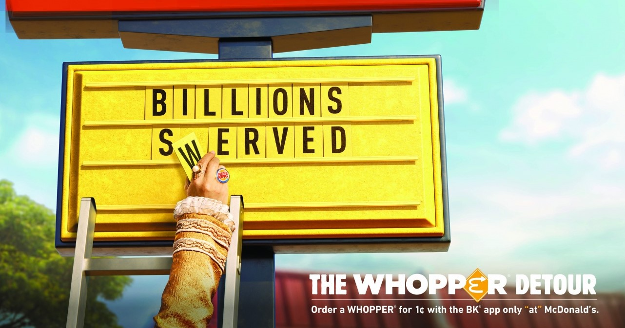 Burger King: The Whopper Detour