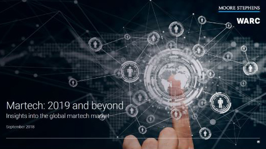 The martech report 2019